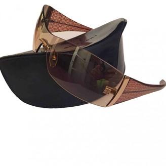 Givenchy Beige Plastic Sunglasses