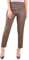 Pt01 Women's Black/gold Polyester Pants.