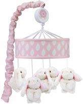 Lambs & Ivy Happi by Dena Charlotte Musical Bunny Mobile by