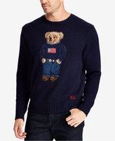 Polo Ralph Lauren Men's Big & Tall Iconic Polo Bear Sweater