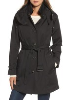 London Fog Women's Short Trench Coat