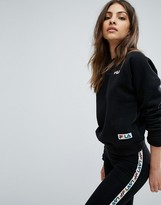 Fila Oversized Boyfriend Sweatshirt With Chest Logo