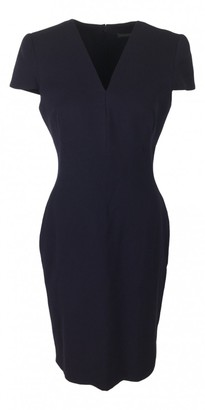 Alexander McQueen Purple Wool Dress for Women