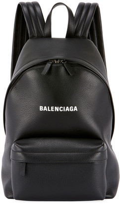 Balenciaga Everyday Large Baltimore Leather Backpack