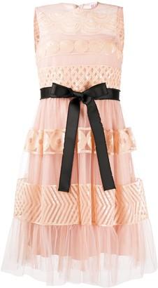 RED Valentino sequin short dress