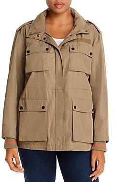 Avec Les Filles Plus Snap-Pocket Jacket
