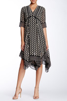 Taylor Printed Chiffon Dress