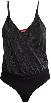 n:philanthropy Vegas Metallic Bodysuit