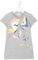 Fendi printed T-shirt - kids - Cotton - 3 yrs