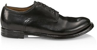 Officine Creative Anatomia Leather Lace-Up Dress Shoes
