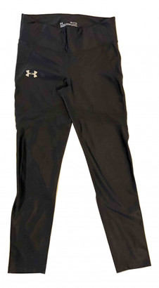 Under Armour Black Polyester Trousers
