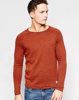 Jack and Jones Knitted Sweater With Crew Neck