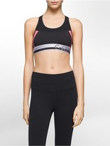 Calvin Klein Performance Colorblock Logo Sports Bra