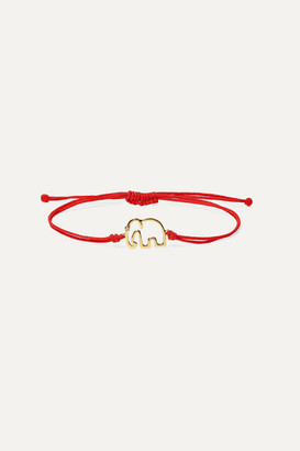 Yvonne Léon 18-karat Gold Diamond Bracelet - one size