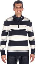 Noble Mount Men's 100% Cotton Half-Zip Pullover Sweater