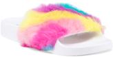 Rainbow Fur Pool Slides