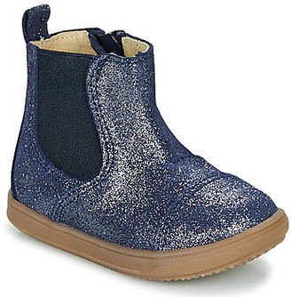 Citrouille et Compagnie FEPOL girls's Mid Boots in Blue