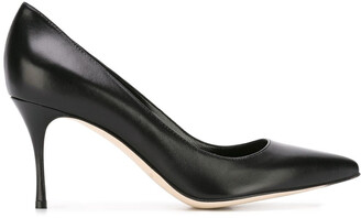 Sergio Rossi Pointed Toe 80 Pumps