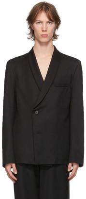 Enfants Riches Deprimes Black Wool Shawl Collar Blazer