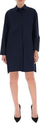'S Max Mara Long-Sleeve Shirt Dress