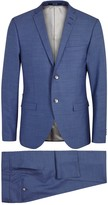 Tiger Of Sweden Jil Blue Wool Suit