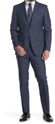 John Varvatos Collection Nested Brushed Wool Suit