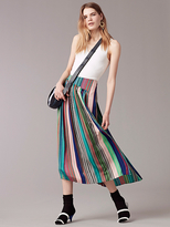Diane von Furstenberg Tailored Asymmetric Overlay Skirt