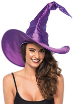 Leg Avenue Purple Large Ruched Witch Hat