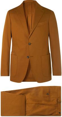 Aimé Leon Dore + Drake's Navy Cavalry Cotton-Twill Suit