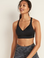 Old Navy High Support Racerback Sports Bra for Women