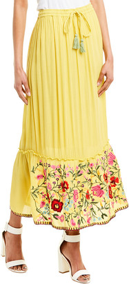 Raga Blooming Lotus Maxi Skirt