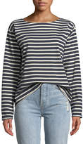 MiH Jeans Simple Mariniere Long-Sleeve Shirt