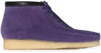 Clarks Wallabee suede boots