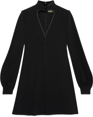 Gucci Jersey dress with cut-out heart