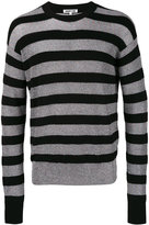 McQ by Alexander McQueen striped jumper