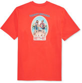 Tommy Bahama Men's Enzyme-Washed 'Knotty or Nice' Graphic Print T-Shirt