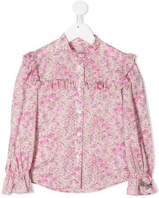 Philosophy Di Lorenzo Serafini Kids Floral Print Shirt