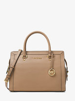 Michael Kors Collins Large Leather Satchel
