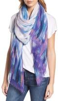 Nordstrom Women's Waterwash Tie-Dye Scarf