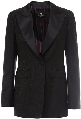 Etro Jacquard Tailored Jacket