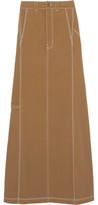 Vetements + Carhartt Denim Maxi Skirt