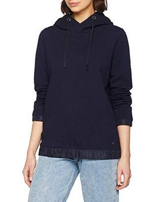 Cecil Women's 300668 Sweatshirt, (Deep Blue 10128)