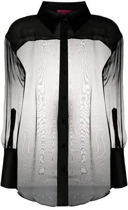 GAUGE81 Sheer Silk Top
