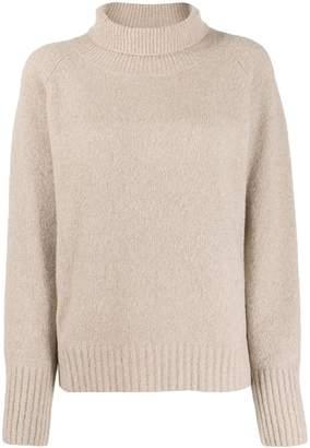 Nili Lotan roll neck knitted jumper