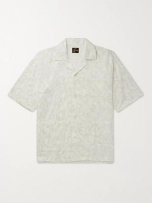 Needles Camp-Collar Embroidered Cotton Shirt - Men