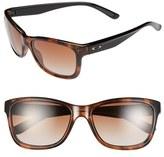 Oakley Women's 'Forehand(TM)' 57Mm Sunglasses - Tortoise