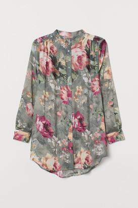 H&M H&M+ Crinkled blouse