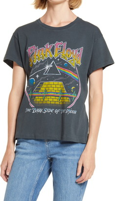 Daydreamer Pink Floyd Dark Side of the Moon Pyramid Graphic Tee