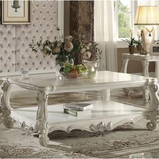 Astoria Grand Welton Coffee Table Astoria Grand Color: Bone White