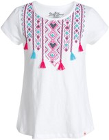 Lucky Brand Ikat Tassel T-Shirt - Short Sleeve (For Big Girls)
